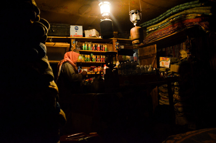 Bedouin Hut on Mt Sinai