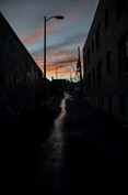 DC Alley Sunset