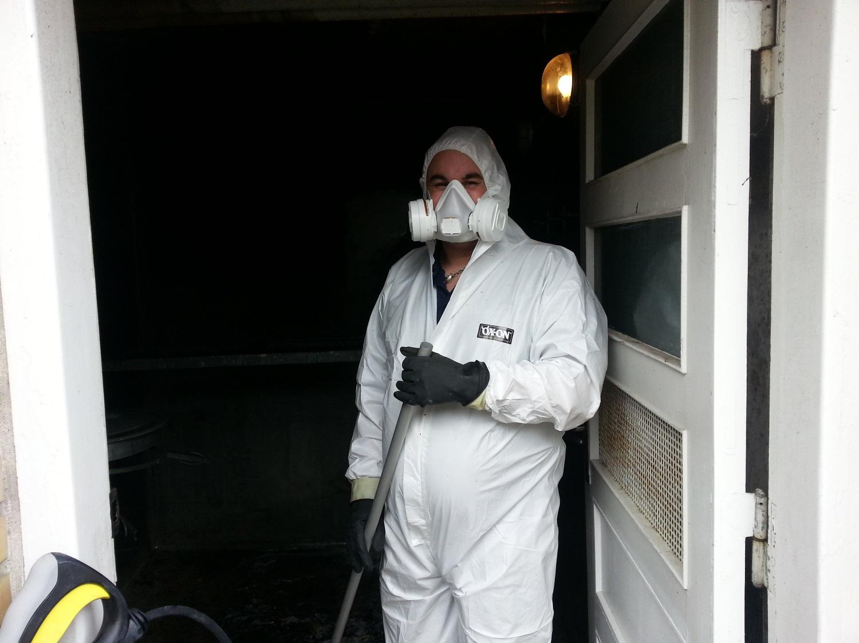 Vores medarbejder er godt beskyttet og klar til opgaven