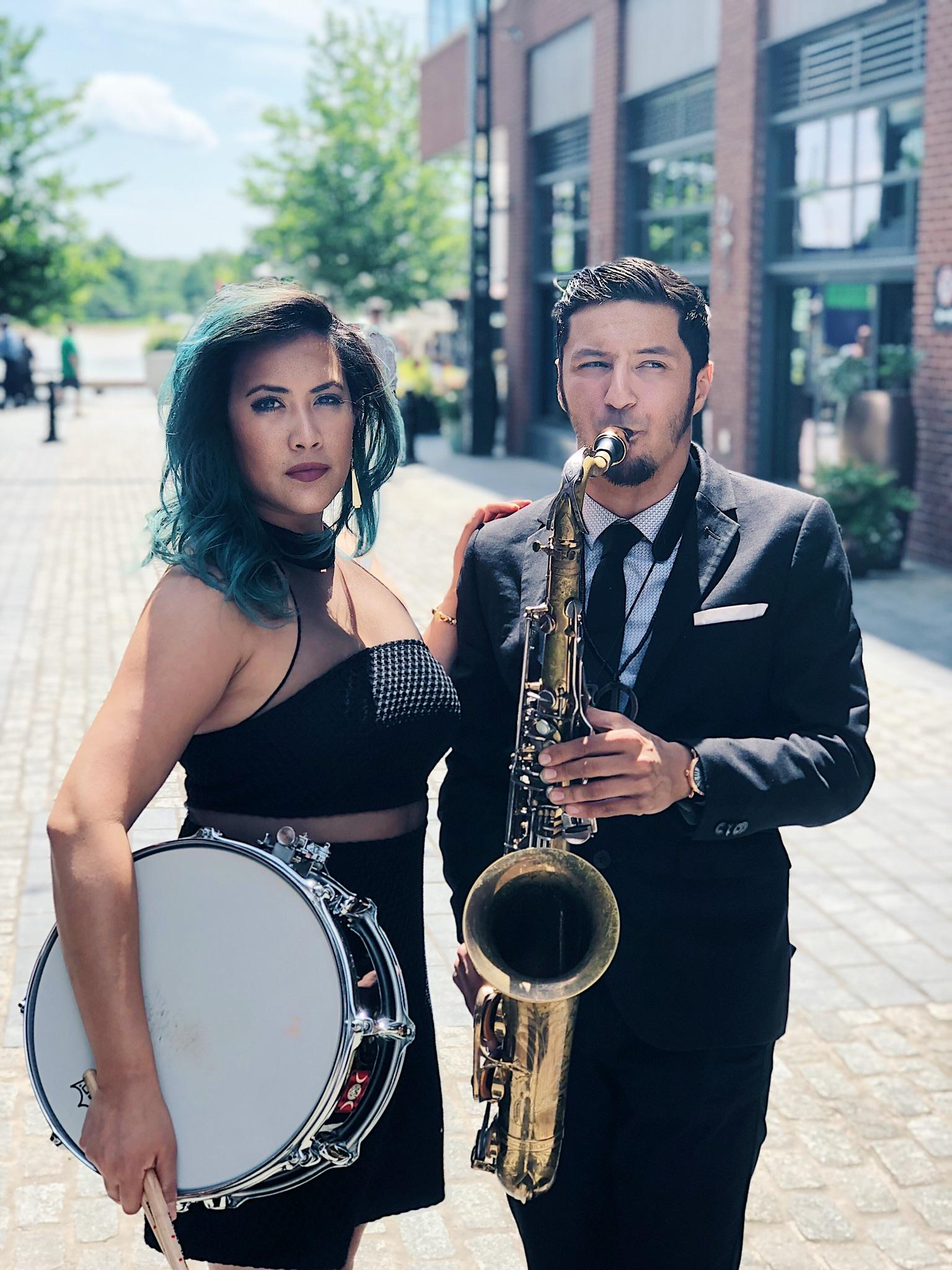 Isabelle De Leon and Elijah Jamal Balbed