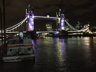 Performance on the Thames for Imperial College of London party!