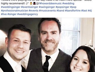 Client Testimonial - Wedding Performance, Wales,  April 2019