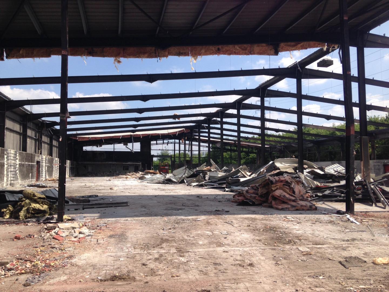Soft Strip Demolition of a Former Homebase,Willenhall.JPG