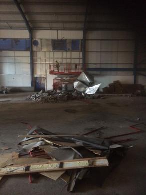 soft strip demolition, Former EE, Lymedale Newcastle Under Lyme.JPG