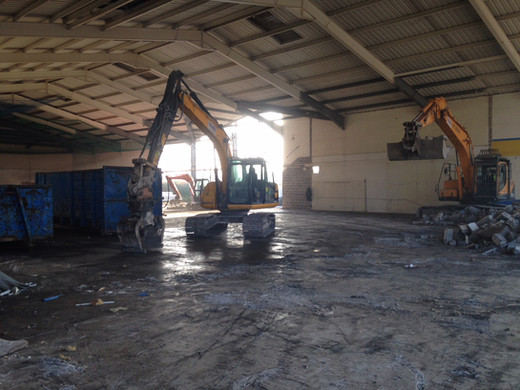 soft strip demolition of a Toys R Us, Festival Park Stoke.JPG