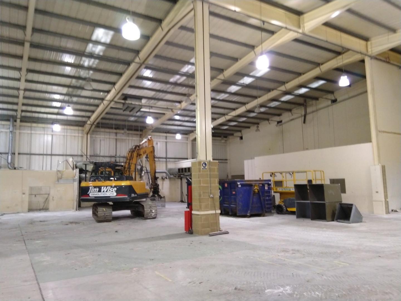 Soft strip demolition for a warehouse in kent..JPG