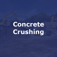 Concrete Crushing Contractor in Leicester | Jim Wise Demolition
