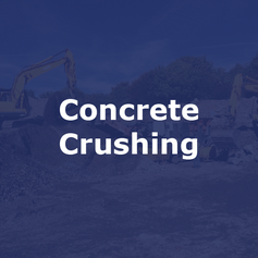 Concrete Crushing Contractor in Derbyshire | Jim Wise Demolition