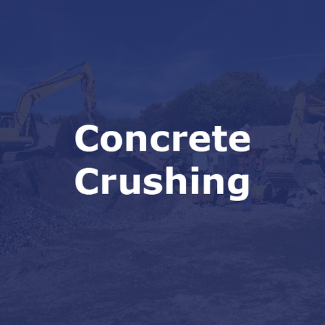 Concrete Crushing Contractor in Nottingham | Jim Wise Demolition