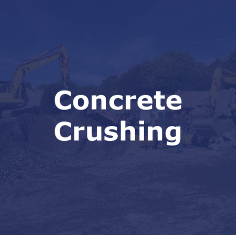 Concrete Crushing Specialists in Cheshire