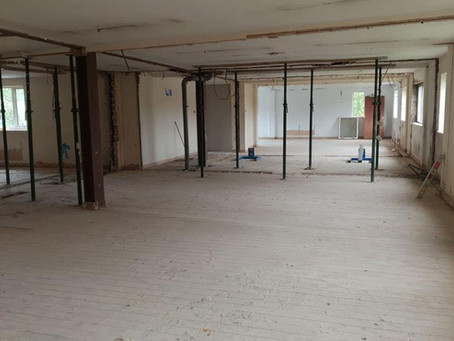 Fantastic strip out job of a Halesowen Office.