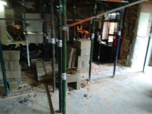 Soft strip demolition of a Wetherspoons, Bridlington..JPG