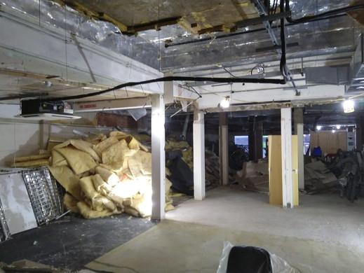 Soft strip demolition of a Wetherspoons, James Street Liverpool.JPG