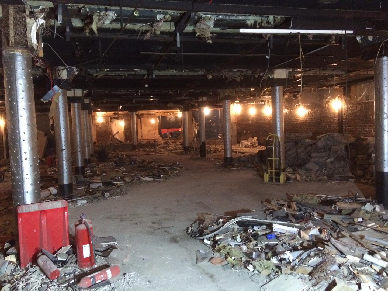 Soft strip demolition of The Tunnel, Night Club,Glasgow.JPG