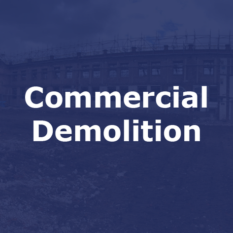 Commerical Demolition Company in Cheshire