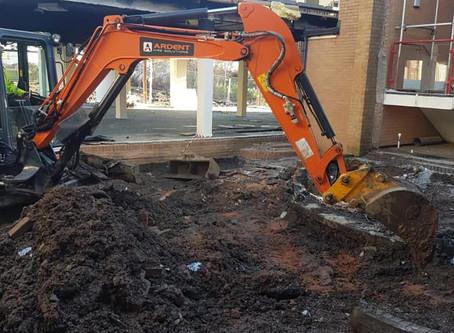 Demolition in Tamworth