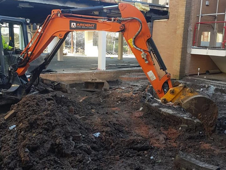 Demolition in Tamworth