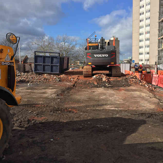 Demolition Project in Hyde | Jim Wise Demolition