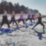 Beach yoga $15_Monday through Friday at