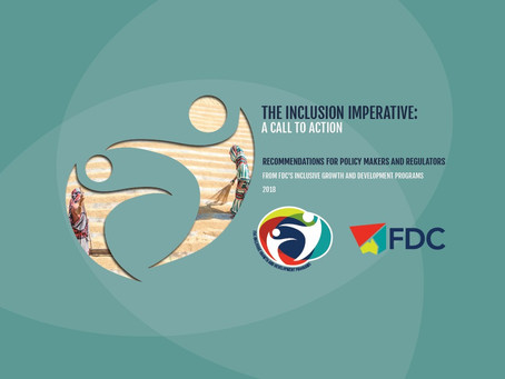 FDC Releases Policy Recommendations Report to Support Inclusive Growth and Development