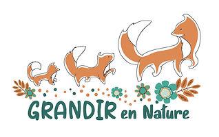 Logo Grandir en nature_Cosmoss Kamourask