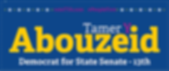 Abouzeid for State Senate Logo