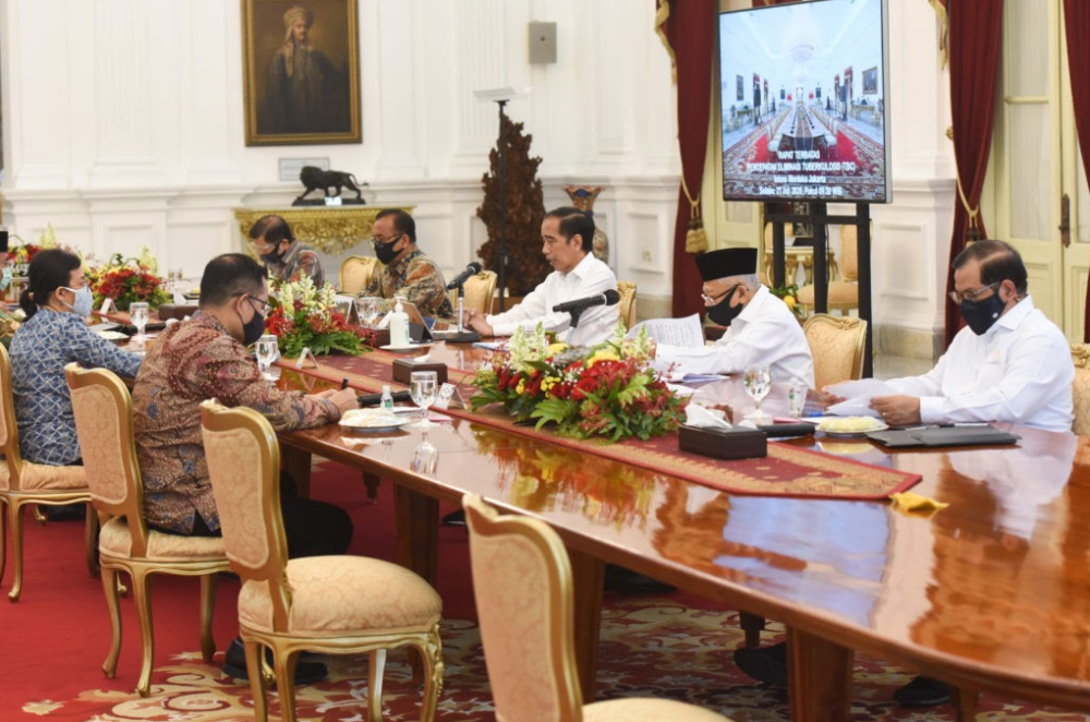 President Joko Widodo chaired a Limited High Level Meeting to accelerate TB Elimination in Indonesia,  Jakarta, Tuesday (21/7) source