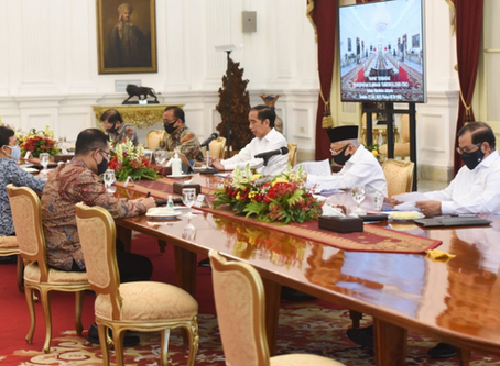 President Joko Widodo mandates an innovative approach to fighting COVID-19 and TB in Indonesia