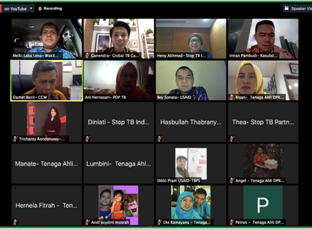How Does Indonesia Face COVID-19 and TB? House of Representatives' Expert Staff Hold a Webinar on It
