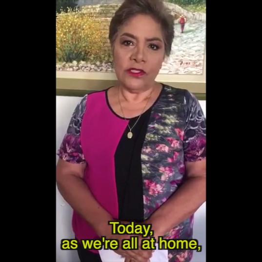 World TB Day from home - Peru - Luz Salgado.mov