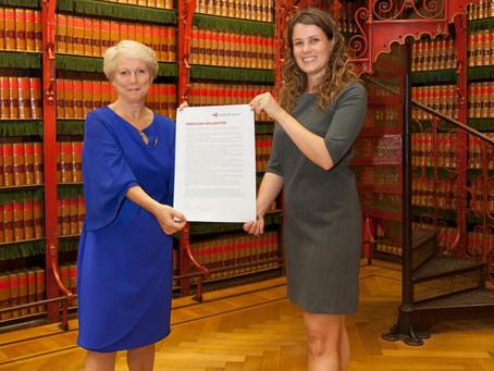 Netherlands MP, Anne Kuik, becomes TB Ambassador