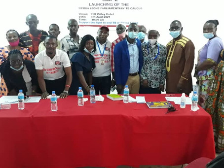 Sierra Leone launches National Caucus to accelerate progress to end TB