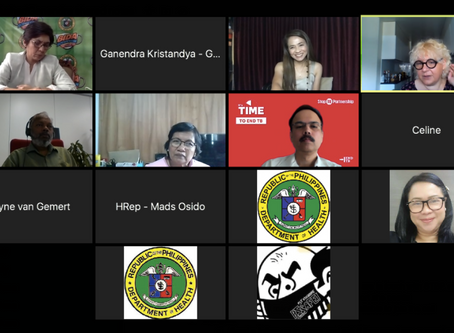 """Congresswoman Angelina """"Helen"""" Tan leads national call in the Philippines on COVID-19 and TB"""
