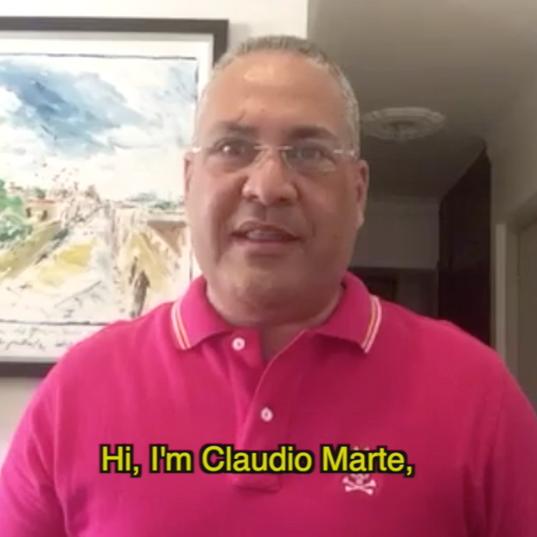 World TB day from home - Dominican Republic - Claudio Marte.mov