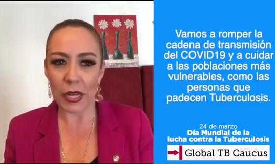 World Tb Day from home - Mexico - Alejandra Reynoso