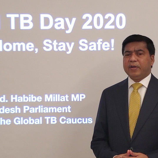 World TB Day from home - Bangladesh - Prof Millat.mp4