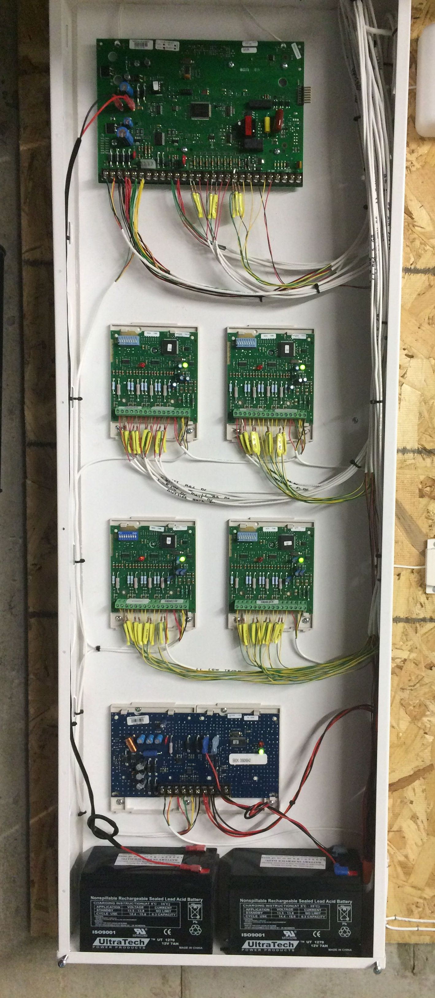 Large Security Panel Wired