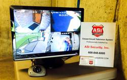 CCTV Monitor in Safe Room