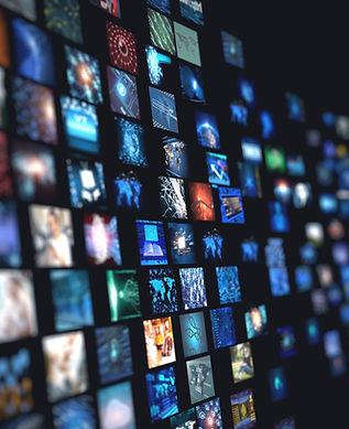 Fernseh Bildschirm