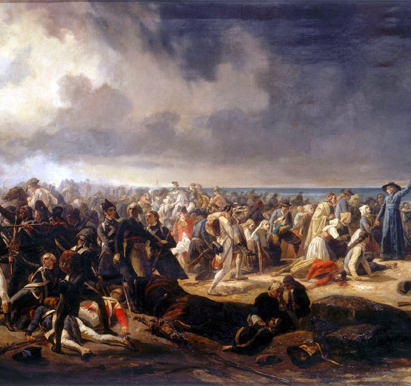 Jean Sorieul - The Battle of Quiberon in