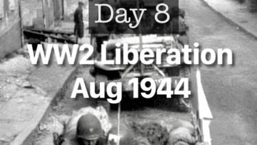 Day 8. ww2 Liberation of Mayenne