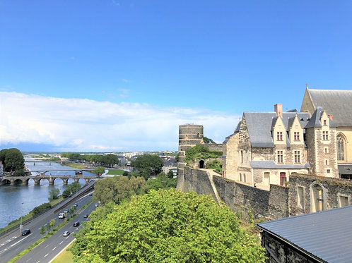 Petite French Holiday Chateau Angers & Brittany