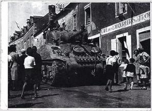 Sherman Tank Ville Mayenne
