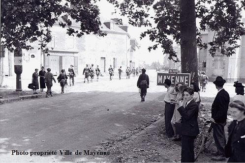 Liberation of Mayenne WW2