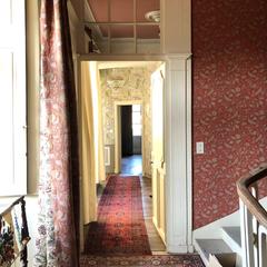 First Floor Hallway to Salon de Guerre