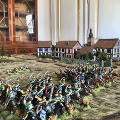 At war on the table in Salon de Guerre