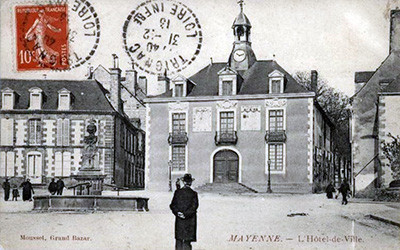 Palace Ducal Mayenne1918
