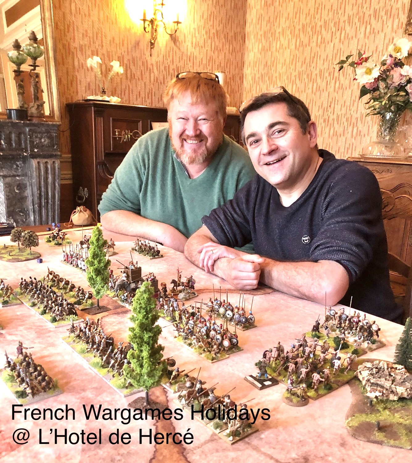 Wargame with Phillipe