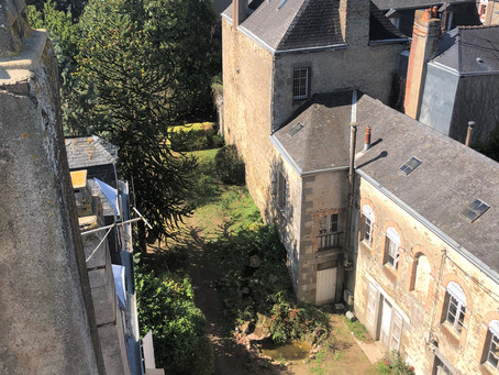 Our French maison has a Tower on top!