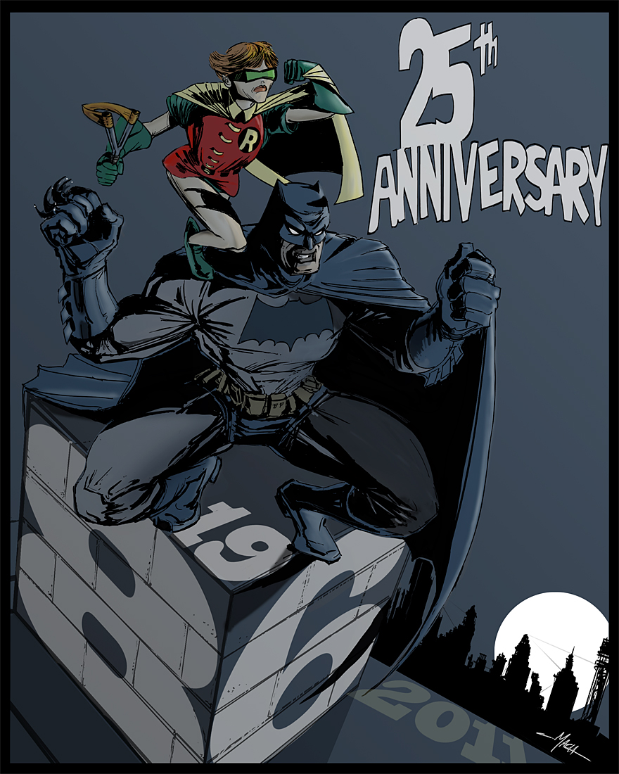 DarkKnite 2011 SDCC Program Artwork.